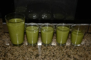 Kale Smoothie After